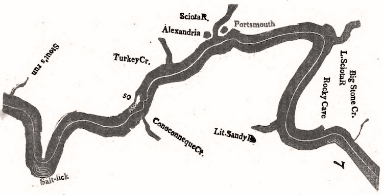 Zadock Cramer's Map of Alexandria & Portsmouth (c. 1801).