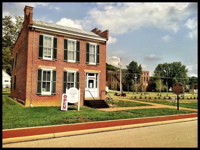 John Parker House, Ripley, Ohio (4 August 2012).