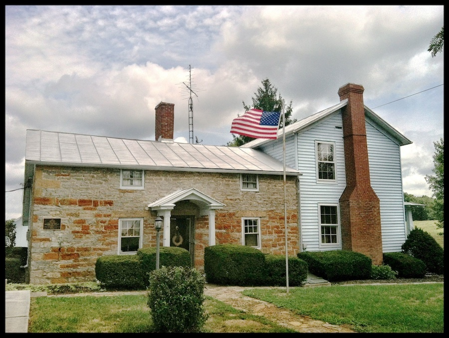 Gov. Thomas Kirker's Stone House, Adams County, Ohio (2012).