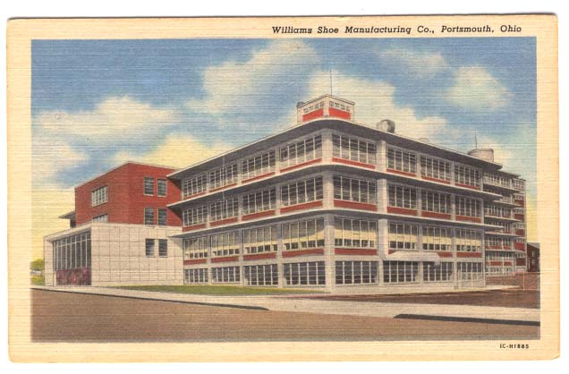 Williams Shoe Manufacturing Co., Portsmouth, Ohio (c. 1960)