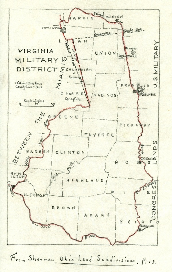 The Virginia Military District (VMD).