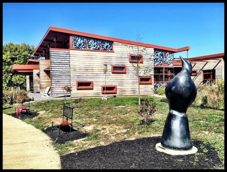 Passenger Pigeon Memorial, Grange Insurance Audubon Center, Scioto Audubon Metro Park, Columbus, Ohio (2012)