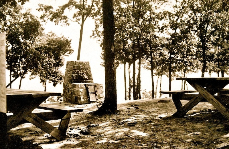 Picnic Point, Shawnee State Forest, Scioto County, Ohio (c. 1938)