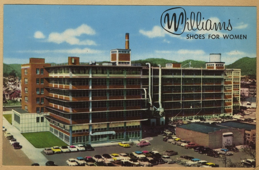 Williams Manufacturing, Portsmouth, Ohio (c. 1965).