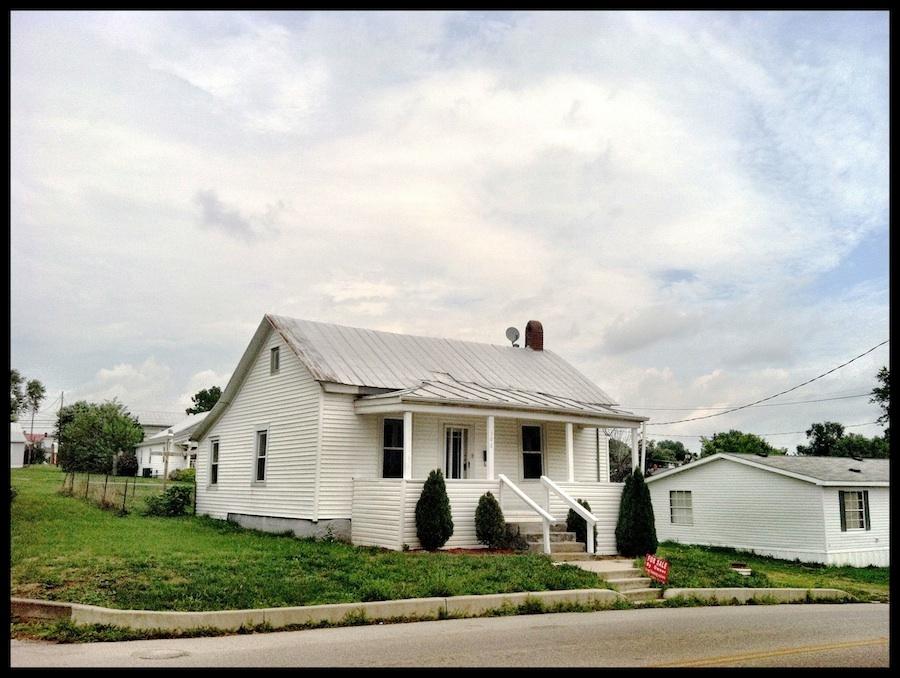 Home of Rev. Dyer Burgess, West Union, Adams County, Ohio (2012).