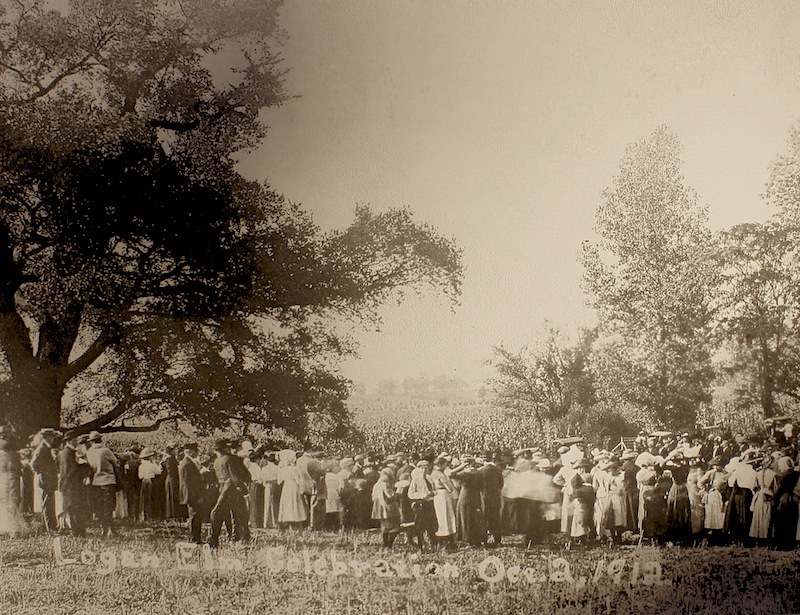 Logan Elm Celebration, Oct. 2, 1912.
