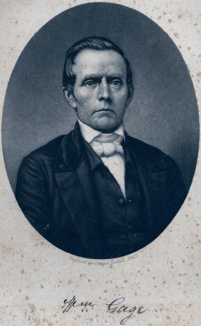 Rev. William Abbott Gage, Jr., of Ross County, Ohio.