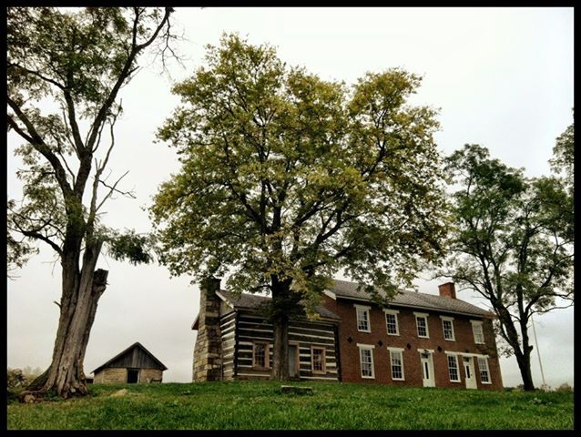 Prominence, the home of John T. Wilson and a station on the Underground Railroad (September 2012).