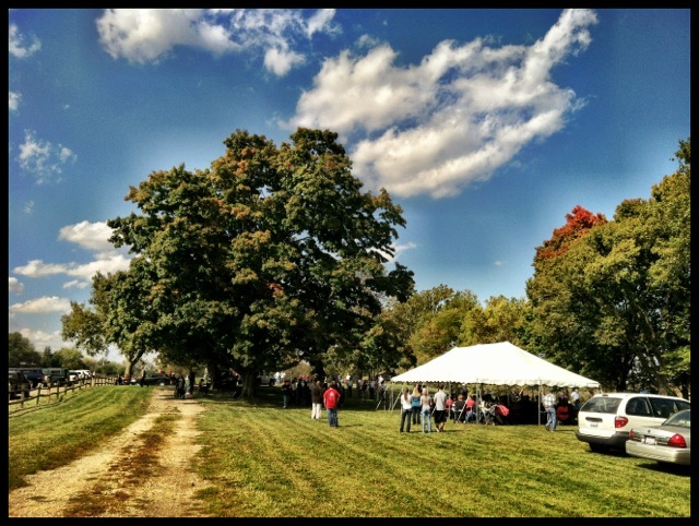Logan Elm Centennial Celebration, Pickaway County, Ohio (30 September 2012).