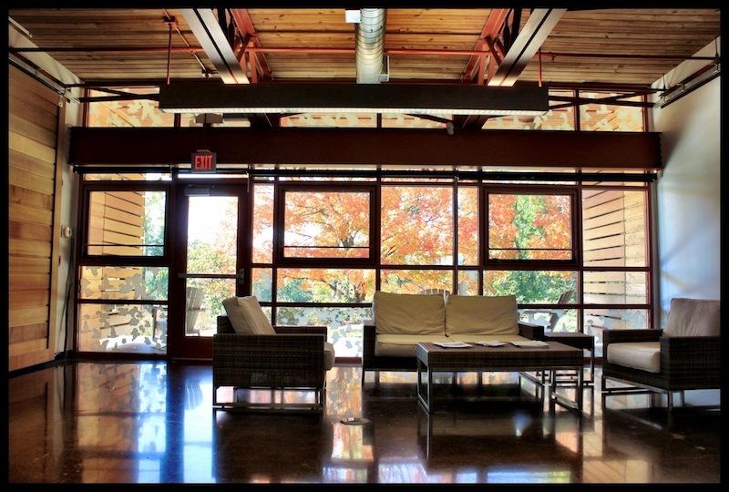 Interior, Grange Insurance Audubon Center, Scioto Audubon Metro Park, Columbus, Ohio (2012)