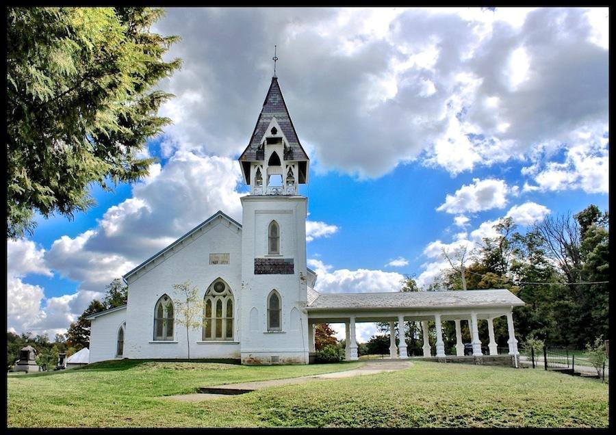 The Concord Presbyterian Church, Ross County, Ohio (2012).