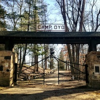 Entrance to Boy Scout Camp Oyo, Scioto County, Ohio (13 December 2012).