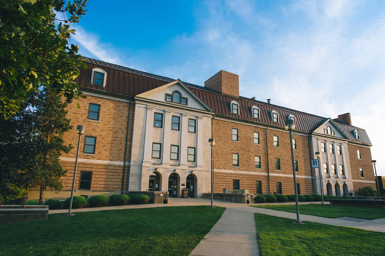 Massie Hall, Shawnee State University, Portsmouth, Ohio.