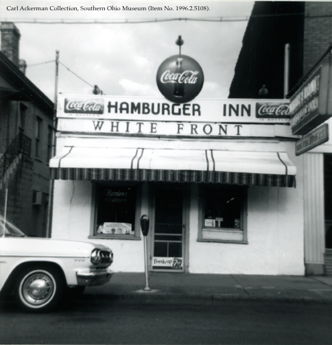 The White Front Restaurant on Chillicothe Street (c. 1965)